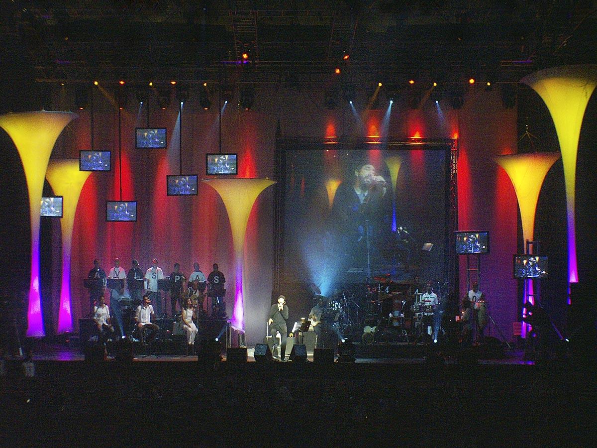 Juan Luis Guerra y 440 Tour 20 Años, 2002